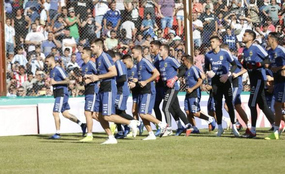 seleccion argentina futbol instituto entrenamiento cordoba