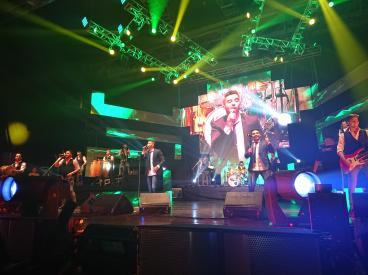 Dale q va primer aniversario plaza de la Música Neno Aguirre David Ortiz rafaga