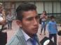 Protesta en la Municipalidad por la muerte de un niño