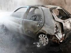 auto incendio autopista cordoba carlos paz