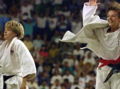 Judocas hoy son pareja.