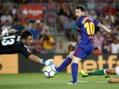 Barcelona Betis Messi Gol Deulofeu Liga Espana