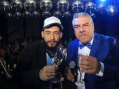 Ulises Bueno y Claudio Tapia