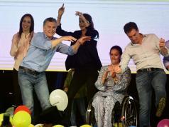 Macri festejos cambiemos elecciones legislativas