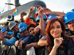 Cristina Kirchner, el día que anunció el regreso al agua del ARA San Juan.