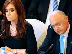 Cristina Kirchner y su ex canciller Héctor Timerman.