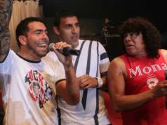 Carlos Tévez, Wanchope Ábila y La Mona