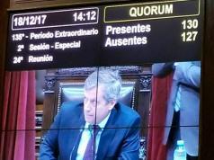 Cambiemos logró el quórum para tratar la polémica reforma.