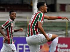baile gol fluminense brasil batalla campal video