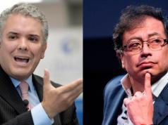 Iván Duque y Gustavo Petro balotaje elecciones colombia