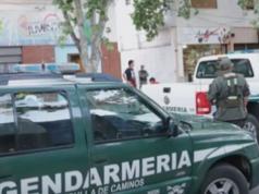 robo auto gendarmería