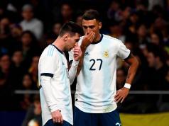 Matias Suarez Messi Argentina