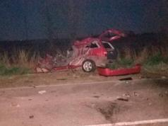 Accidente-Fatal-Laborde-Camion-Auto-Un-Muerto