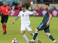 argentina uruguay amistoso internacional