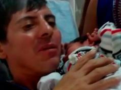 hijo-leonardo-trevissan-hijo-recien-nacido