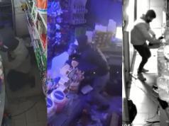robos en el centro camaras de seguridad