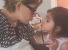 maria laura ferrera desperto del coma amamantar hija