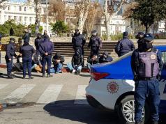 detenidos marcha uta cordoba transporte urbano