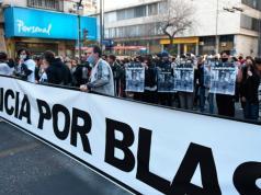 valentino blas correas marcha justicia gatillo facil