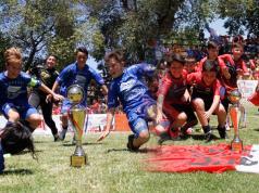 Colonia Caroya y el colegio Espíritu Santo, campeones Fútbol Infantil 2017