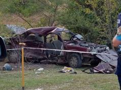 renault 9 choque accidente fatal cordoba