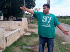 El hermano del detenido mostró el lugar donde le dispararon a la víctima fatal.