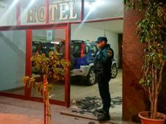 hotel ataque