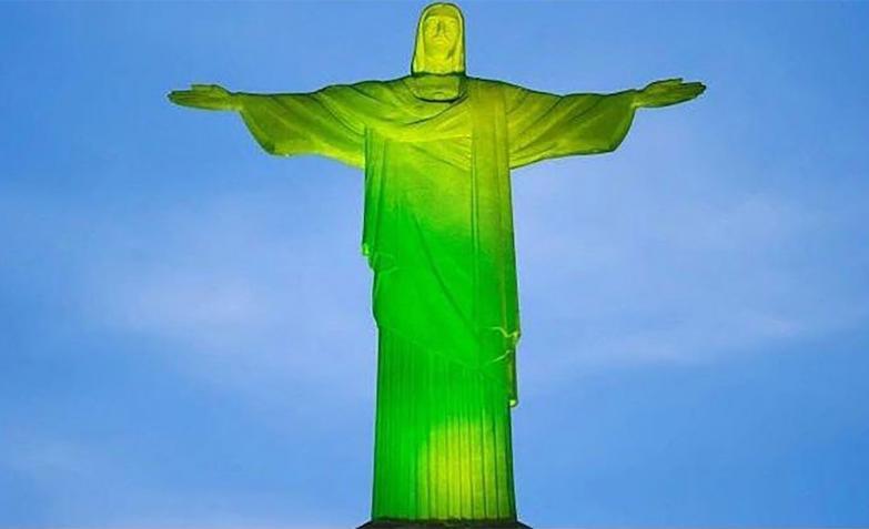 El Cristo Redentor de Río de Janeiro.