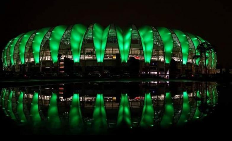 Estadio Beira Río de Porto Alegre.