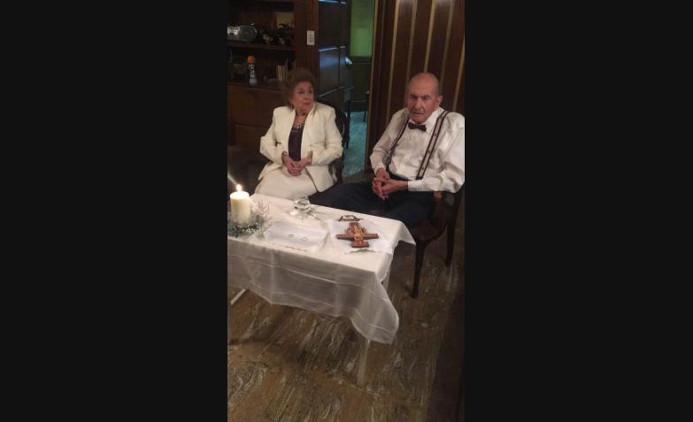 tufi asis florencia moretta casamiento 60 AÑOS