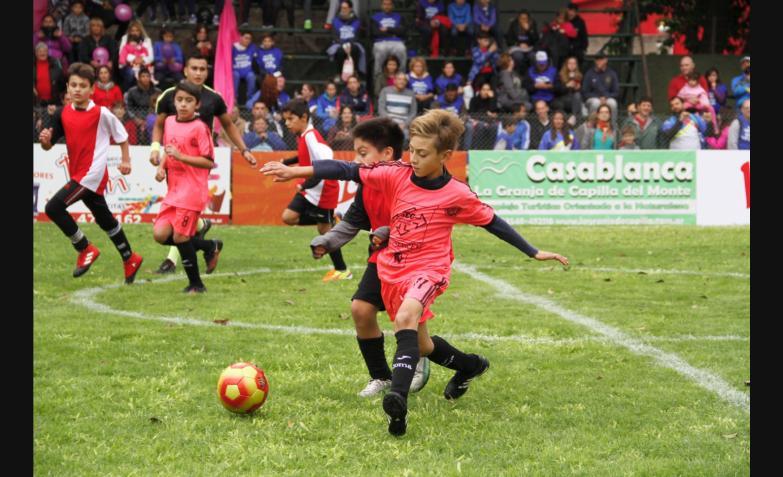 Fútbol infantil: Alta Gracia - Corralito