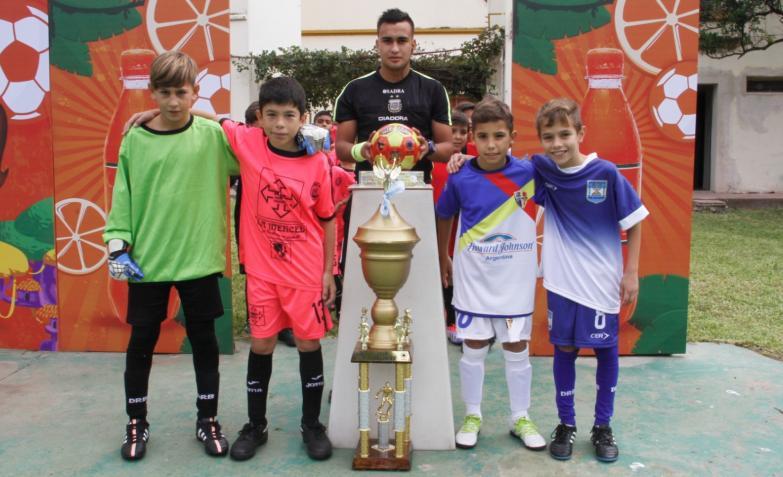 Fútbol infantil: Alta Gracia - Corralito y Peña - San Martín