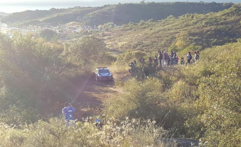 shakedown del rally en Carlos Paz