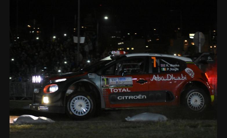 Rally Argentina 2017 Super Especial Centro Civico