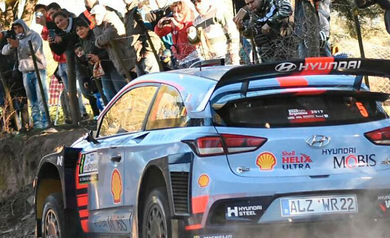 primera etapa rally argentina 2017