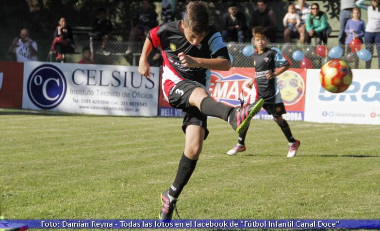Fútbol infantil: Jesús María y Almafuerte