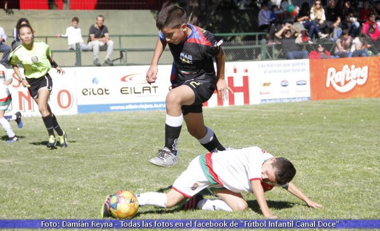 Fútbol infantil: La Calera y Laborde