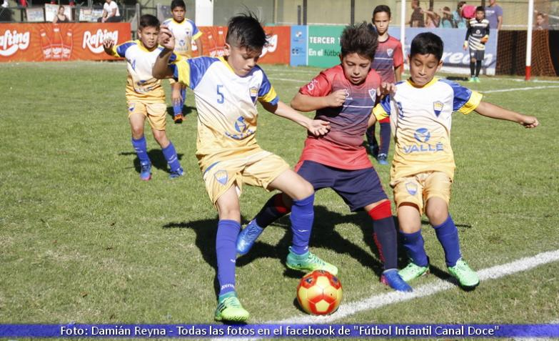 futbol infantil: espíritu santo vs don orione