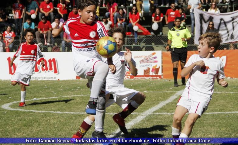 futbol infantil: escuelas pías vs mark twain