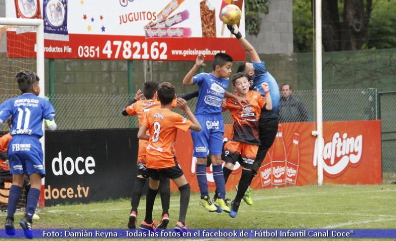 Fútbol Infantil: Colonia Caroya y Villa del Rosario