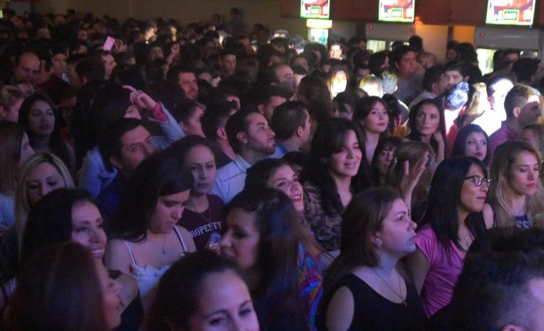 La Barra en un show fantástico en Sala del Rey