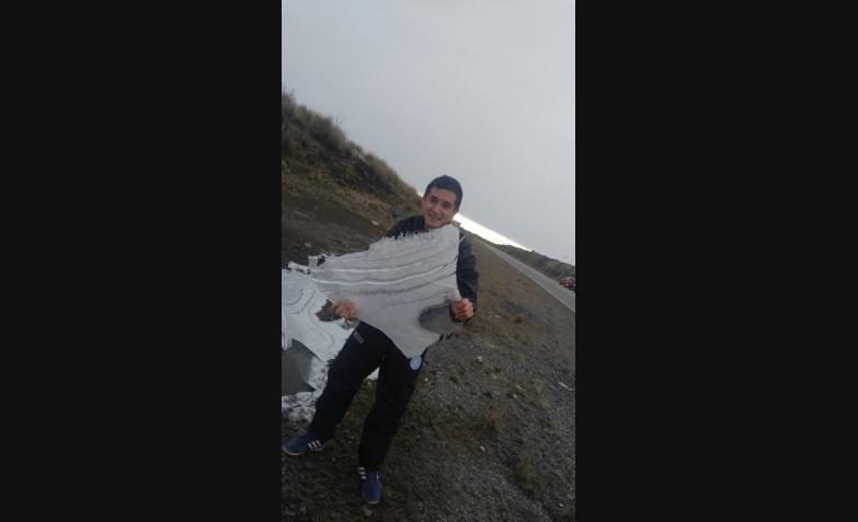 Cristian Ariel desde las Altas Cumbres.