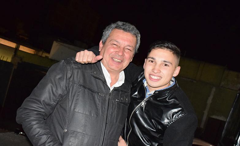 Papa y Hermano de Chino Herrera / Foto: Maxi López ElDoce.tv