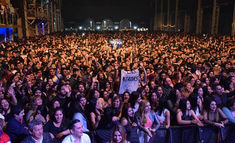 Chipote en Plaza de la Música en la vuelta del Chino Herrera / Fotos: Maxi López ElDoce.tv