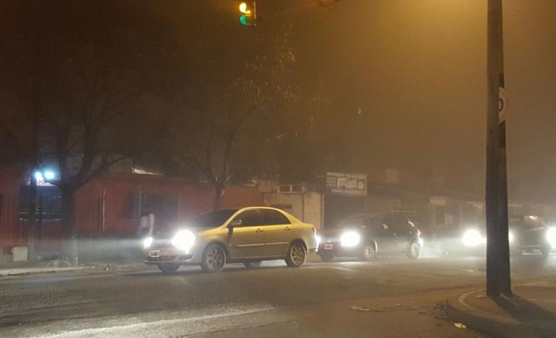 niebla cordoba foto ciudad circunvalación