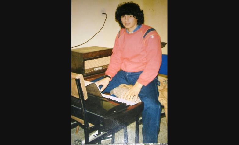 Pablo Brizuela en 1984. Comenzando un sueño con la música