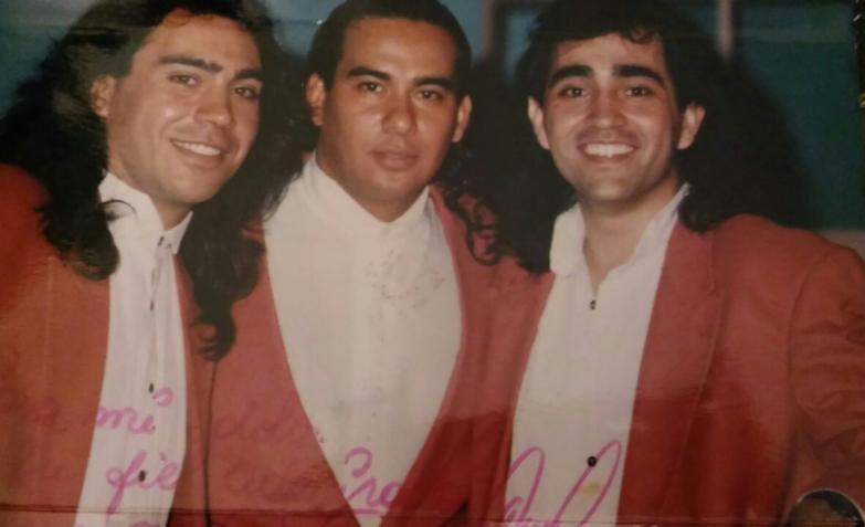 Cristian Amato, Pablo Brizuela y Claudio Toledo en Trulalá