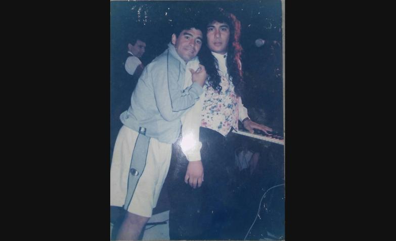 Pablo Brizuela en Trulalá con una visita estelar. Diego Maradona