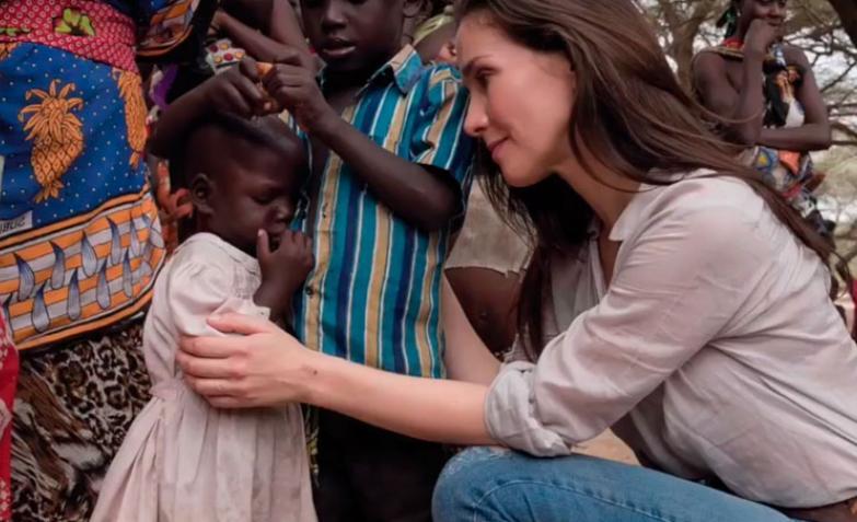 Natalia Oreiro en Kenia