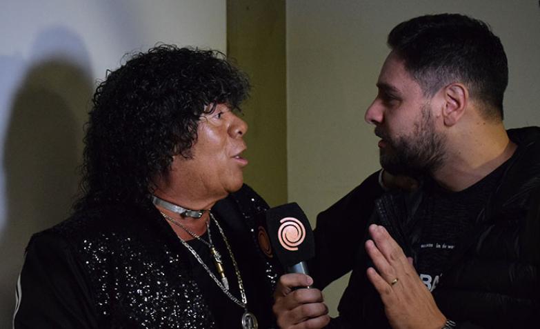 La Mona antes de su gran show habló con ElDoce.tv